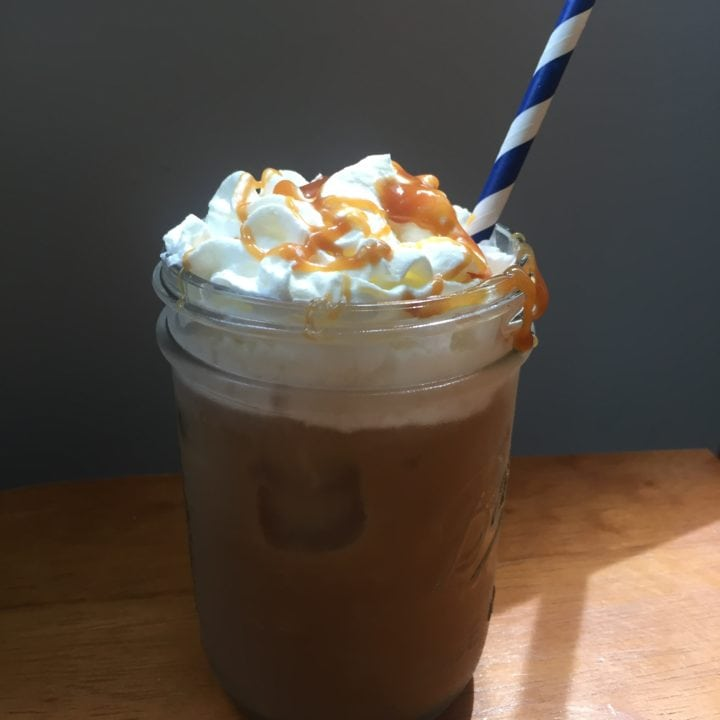 Iced Caramel Macchiato Recipe Sit Sipping Sweetly This Summer