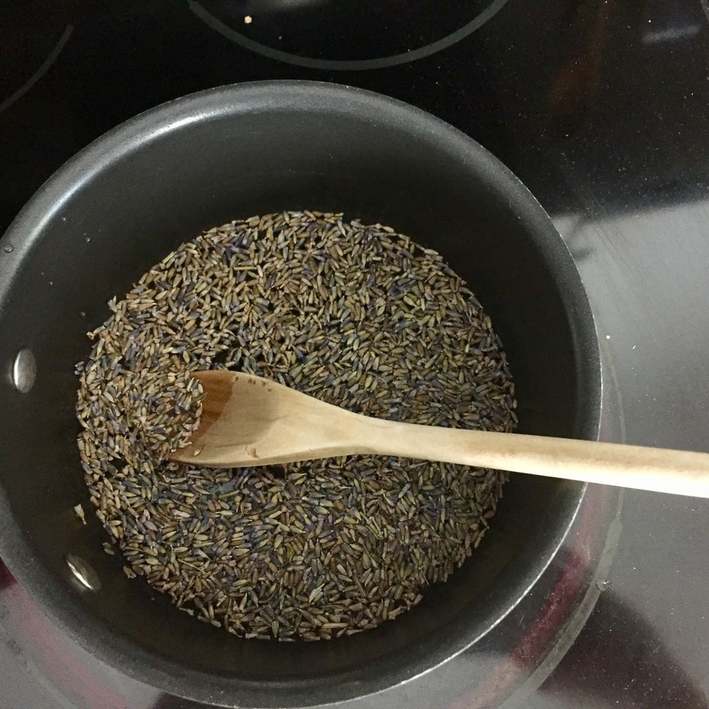 make lavender water
