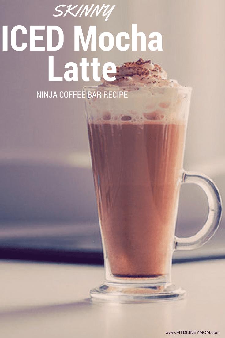 Light Iced Mocha Latte