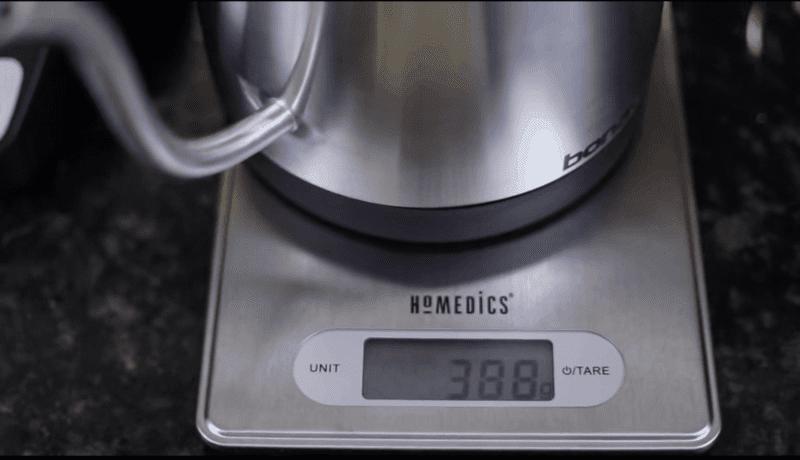 Chemex measure water