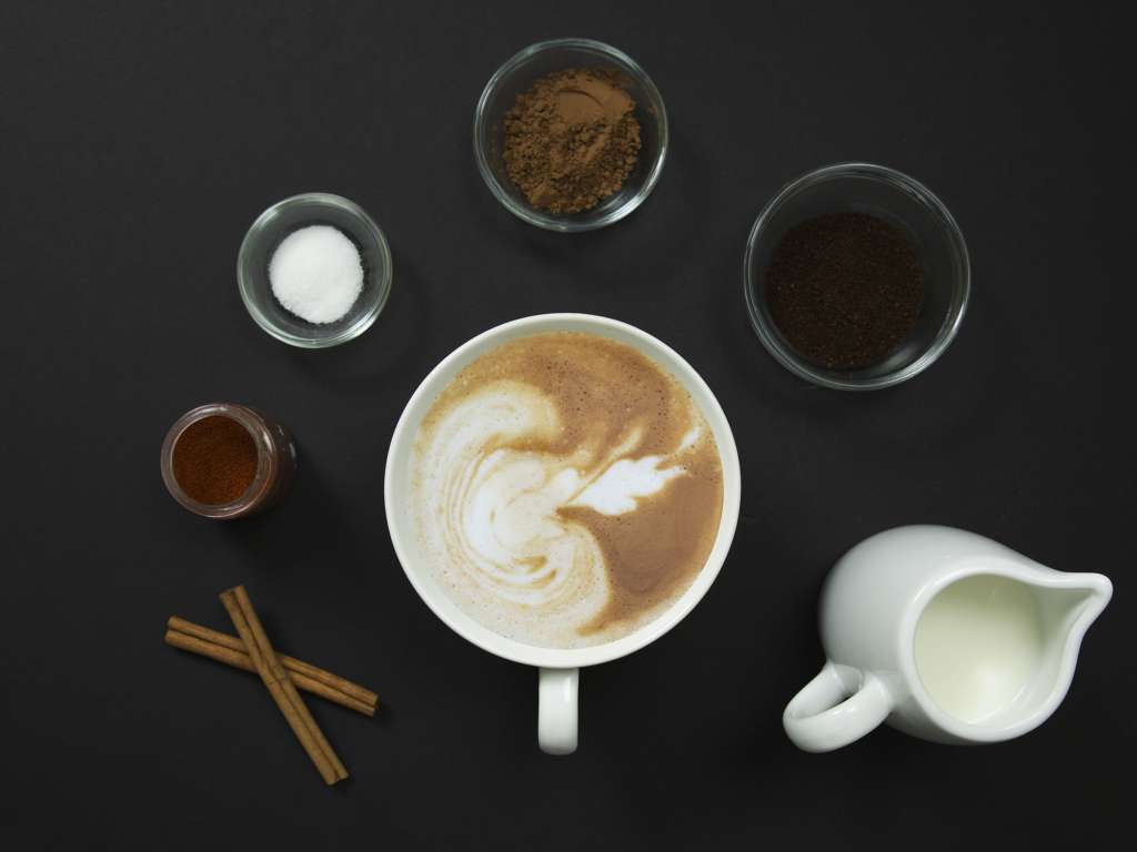 Instant Coffee Spiced Latte