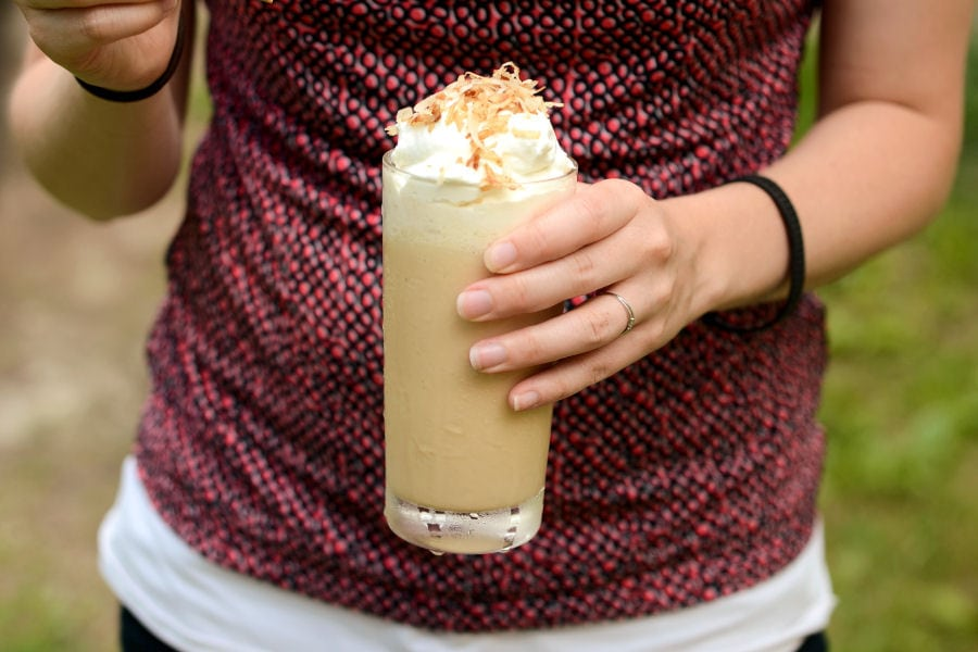 Frozen Iced Thai Coffee