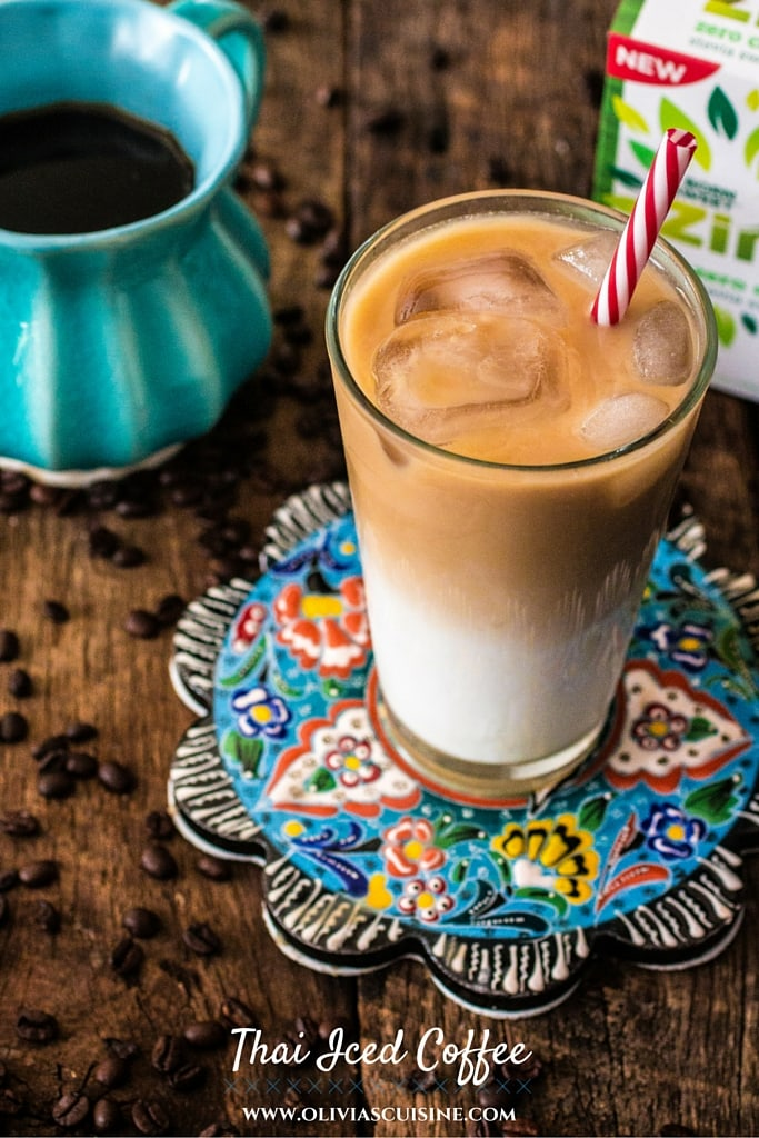 Healthier Thai Iced Coffee Recipe