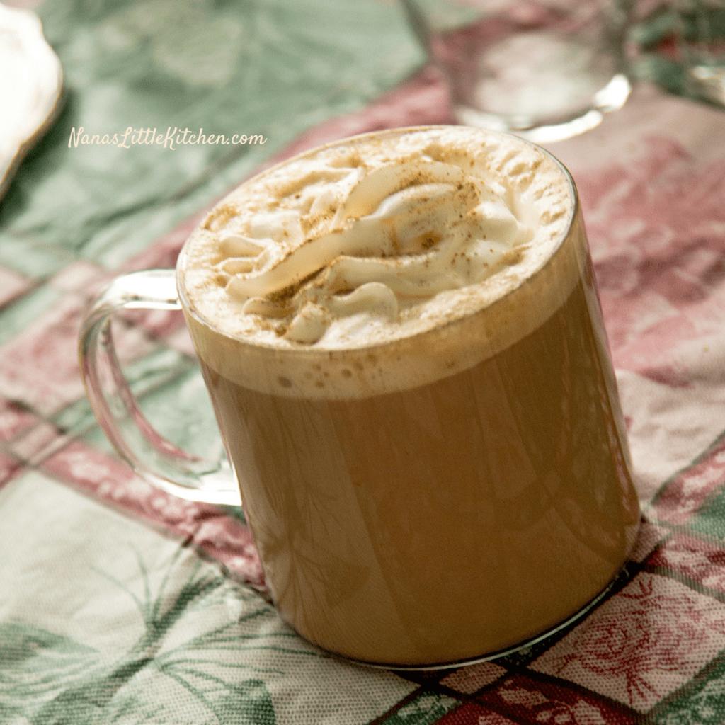 Sugar-Free Tiramisu Mocha Latte