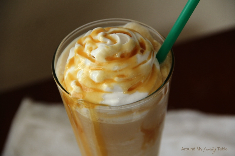Blended Caramel Macchiato Recipe