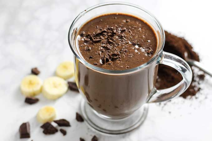 Protein-Packed Healthy Chocolate Coffee Smoothie