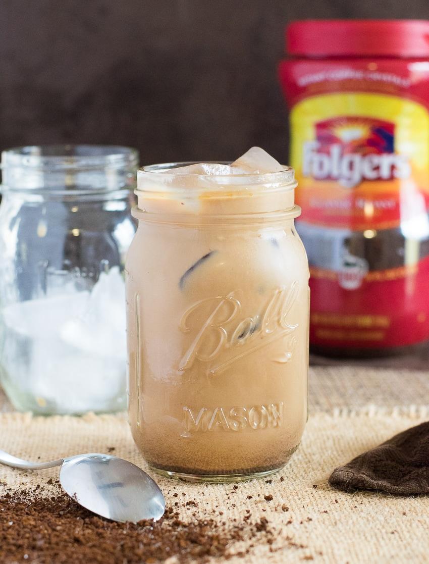Vanilla Mocha Iced Coffee Recipe