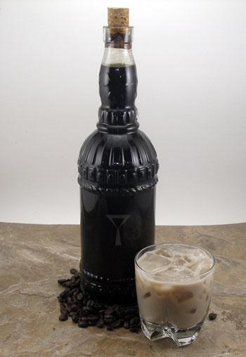 . Ground Coffee Liqueur Recipe
