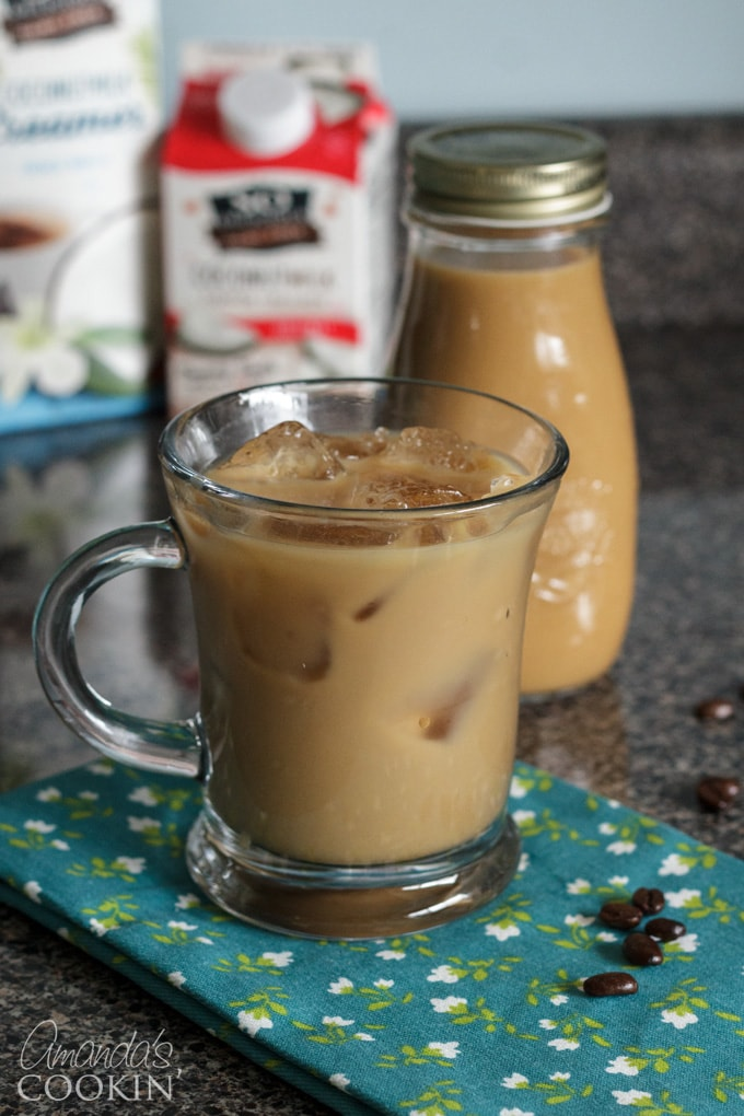 Cold Brew Iced Vanilla Coffee