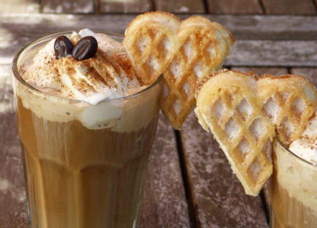 vanilla iced coffee recipes