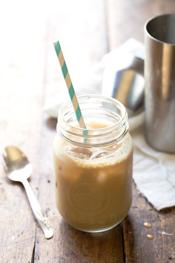 Almond Milk and Honey Iced Coffee