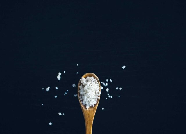 salt in coffee