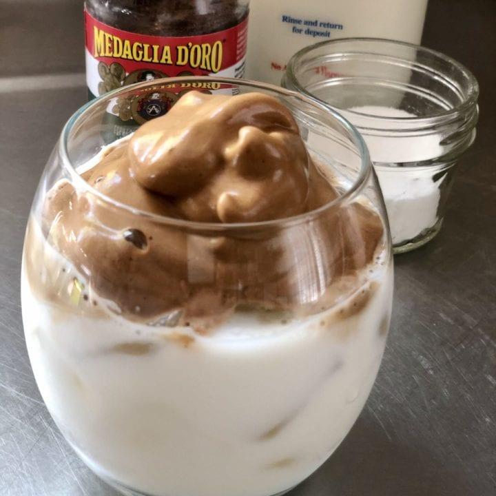 dalgona coffee aka whipped coffee recipe