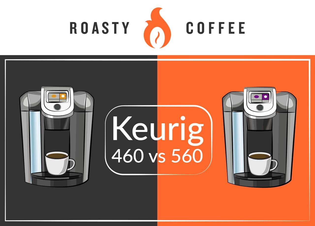 keurig 460 vs 560