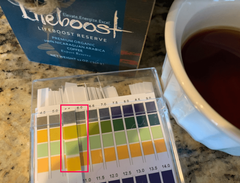 LifeBoost - low acid coffee test