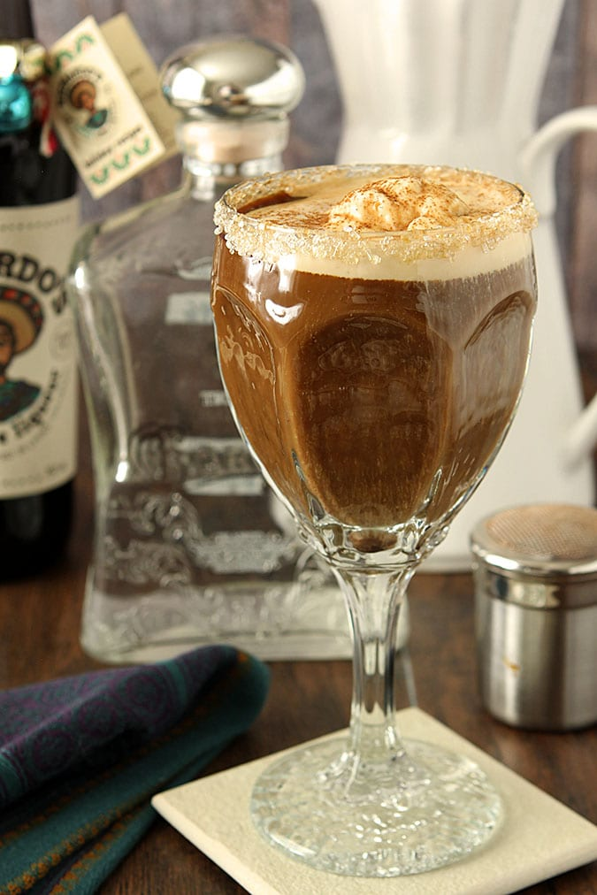 Satisfying Mexican Coffee with Coffee Liqueur