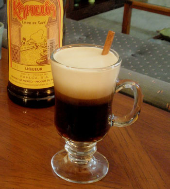 Spiked Mexican Coffee