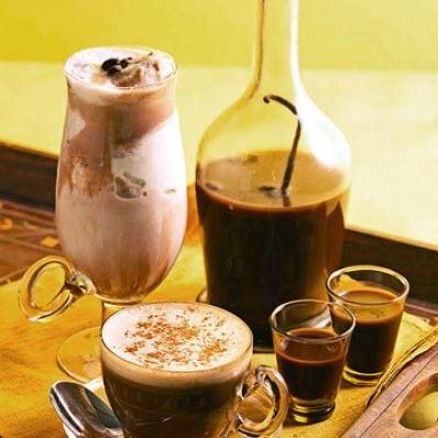 Homemade Chocolate Coffee Liqueur
