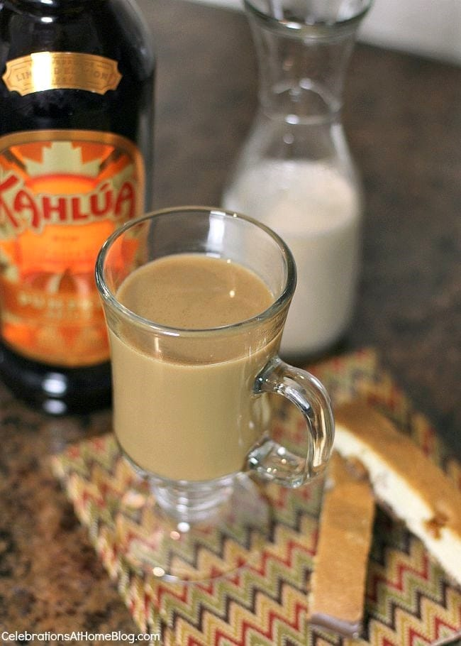 Boozy Pumpkin Spice Coffee