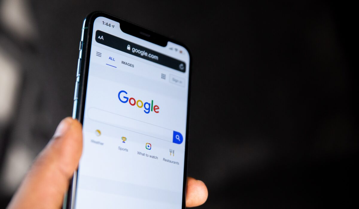 Google search on phone
