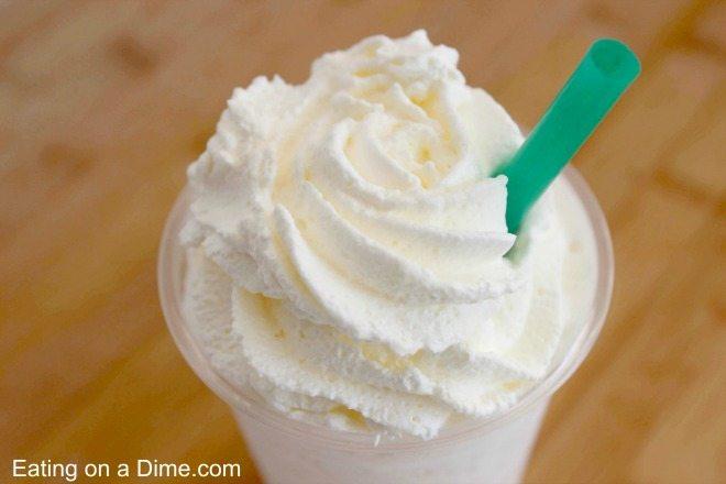 Vanilla Bean Frappuccino Copycat Recipe