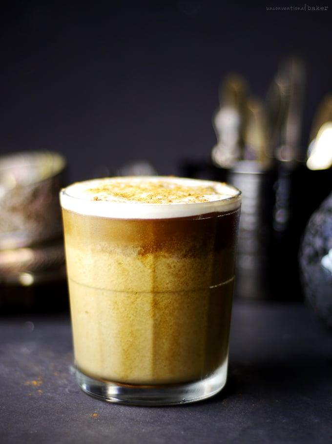 Thai Pumpkin Spice Iced Coffee