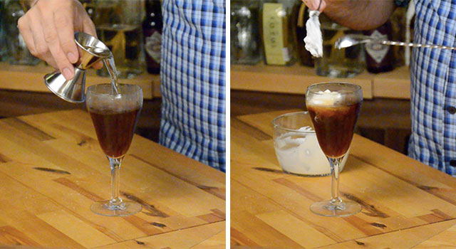 Irish Whiskey and Whipped Cream