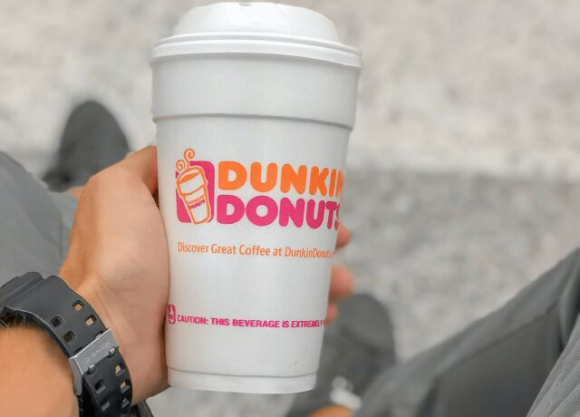 Dunkin Donuts Coffee Beans